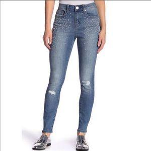 Seven 7 Mid rise Skinny Jeans Sz 10